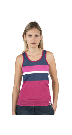 Chillaz Active Tanky Stripes - Débardeur Femme - rose/bleu